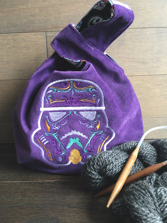 Sugar Trooper Small Knot Style Project Bag