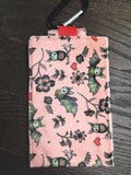 Bat Love! Phone Pouch with Internal Card Pocket