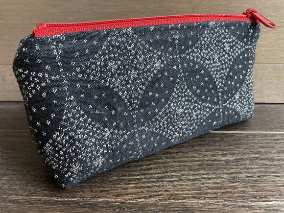 Starry Night Jacquard & PUL Lined Compact Zipper Bag