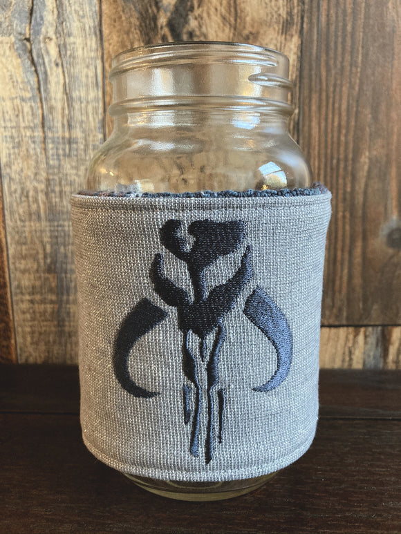 This is the Way Reversible Mason Jar Cozy