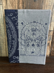 Doors of Durin LotR Journal and Notebook Cover