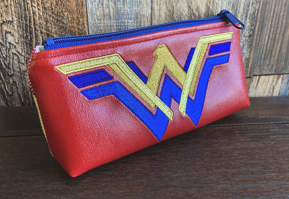 Vintage WW PUL Lined Compact Zipper Bag
