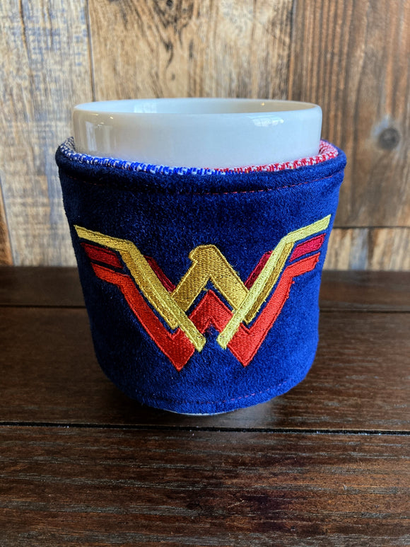 Vintage WW Reversible Mug and Cup Cozy (also fits pints of ice cream)