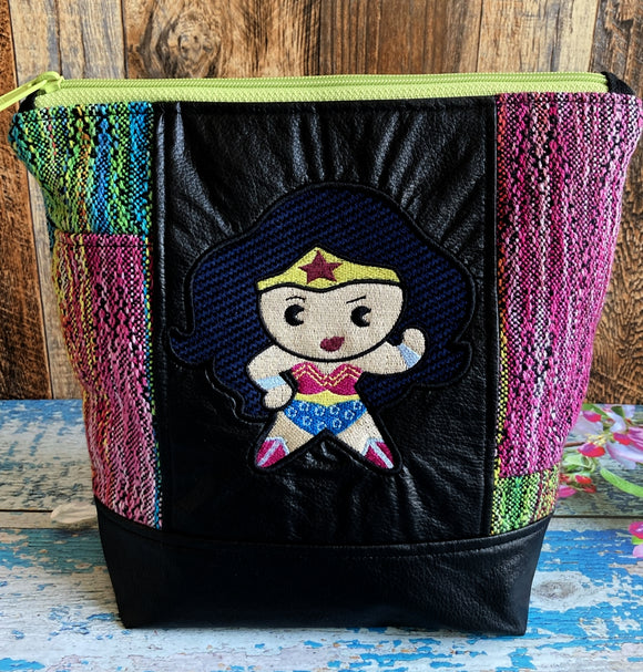 WW1984 Chibi Project or Cosmetic Bag