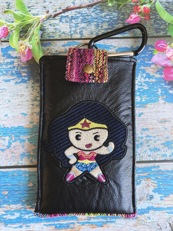 WW1984 Chibi Phone Pouch with Internal Card Pocket