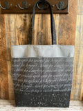 Frodo Script Evenstar Epic Tote Bag