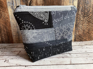 Fading Piecework Project or Cosmetic Bag