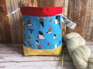 Seabirds Small Project Bag