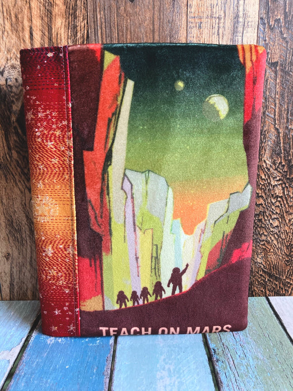 Teach on Mars Journal and Notebook Cover