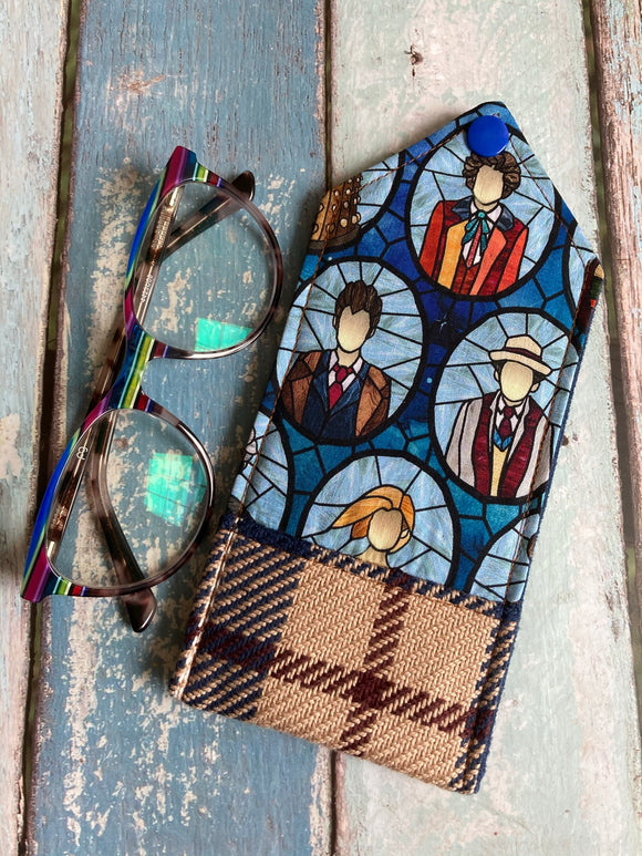Allons-Y Padded Glasses Case