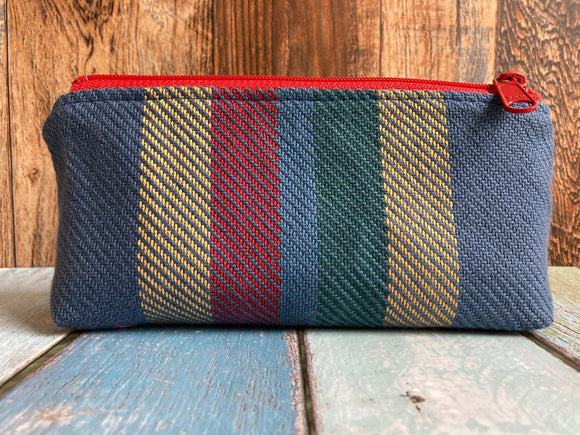 Stranger to Myself Jacquard & PUL Lined Compact Zipper Bag