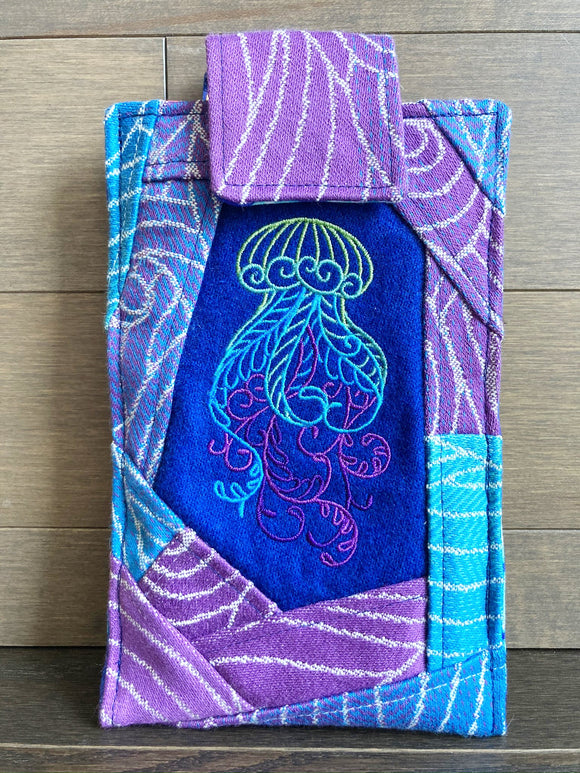 Jellyfish Phone Pouch with Internal Card Pocket
