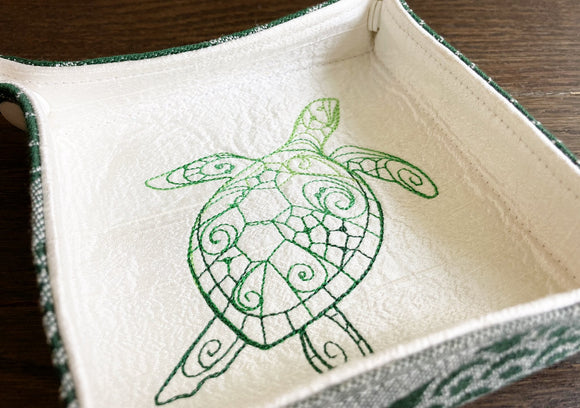 Sea Turtle Jewelry or Trinket Tray or Travel Valet