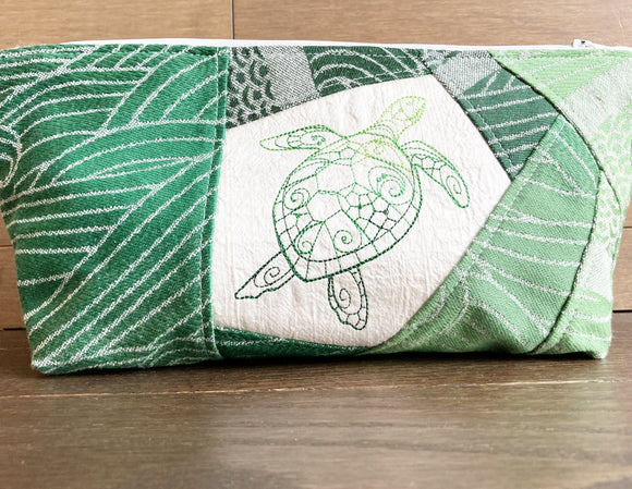 Sea Turtle Extra Large Grab-and-Go Zipper Bag