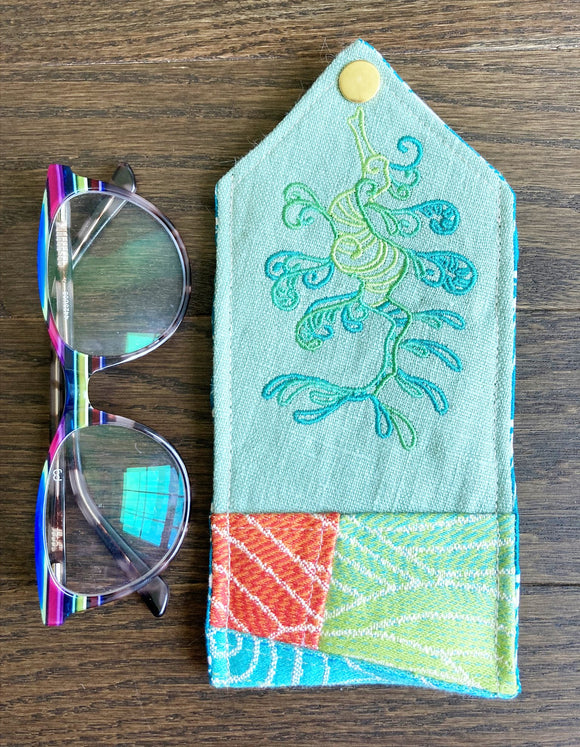 Leafy Seadragon Padded Glasses Case