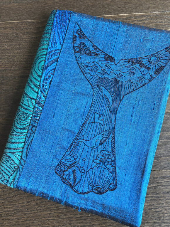 Whale Tale Journal and Notebook Cover