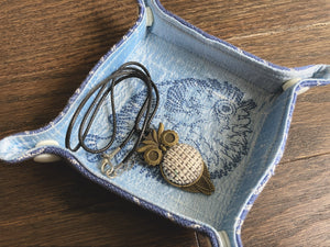 Pufferfish Jewelry or Trinket Tray or Travel Valet