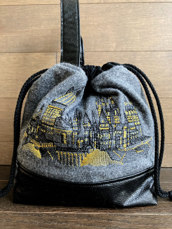 Honourable Houses Yellow Small Project Bag