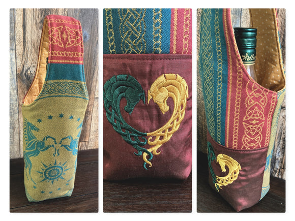 Rohan LotR Bottle Tote