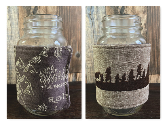 Fellowship LotR XL Reversible Jar and Mug Cozy