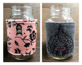 Bat Love! Reversible Mason Jar Cozy