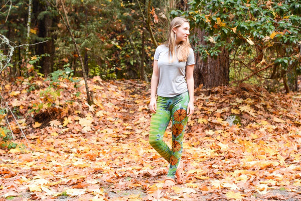 Creating Your Own Tie Dye Leggings