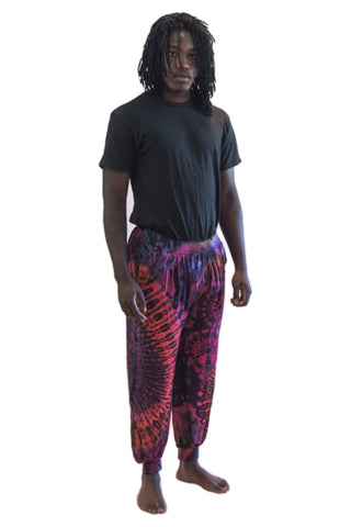 Tie Dye Pants Purple Mix - Tie Dye Leggings
