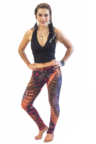 Faded Rainbow Tie Dye Leggings - Tie Dye Leggings