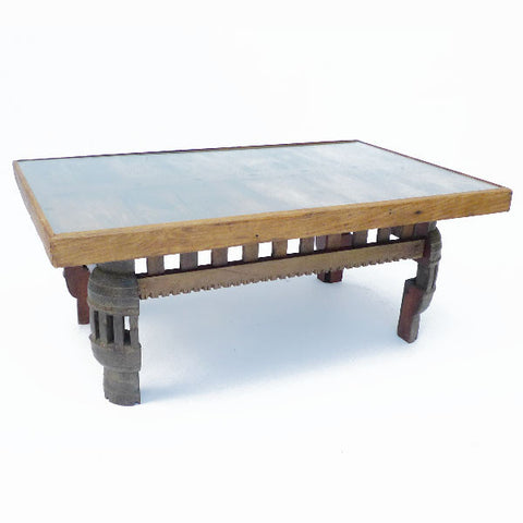 Glass Top Coffee Table - Spirithouse - Thai Product Trade