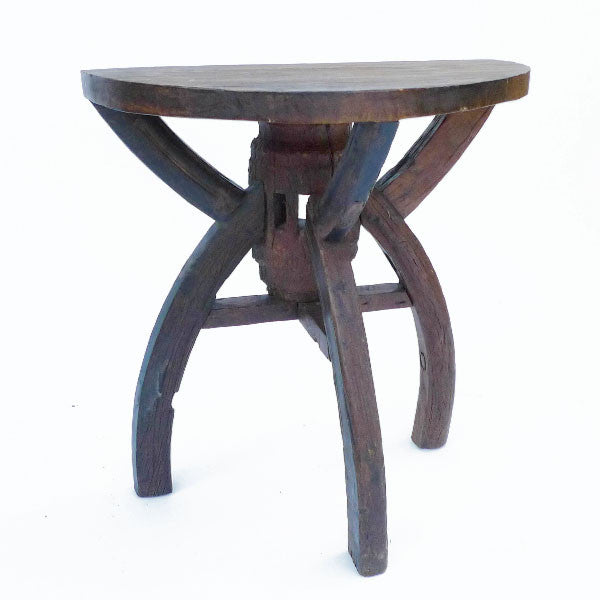 Wheel Side Table - Spirithouse - Thai Product Trade