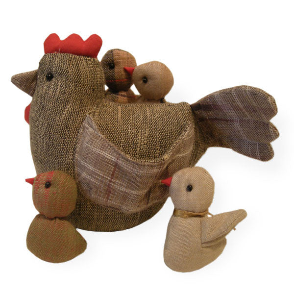 Hen with Four Chicks - Spirithouse - Thai Product Trade