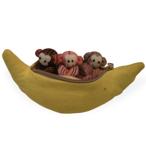 Monkeys in a Banana - Spirithouse - Thai Product Trade