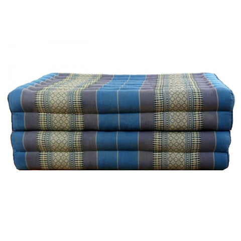 Medium Thai Folding Bed - Blue