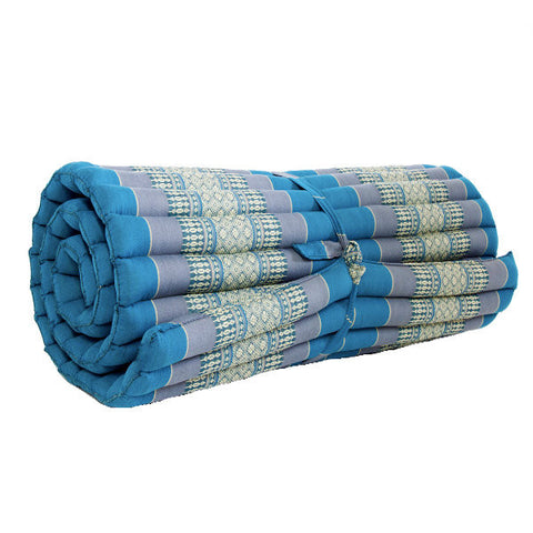Medium Thai Roll Mattress - Blue