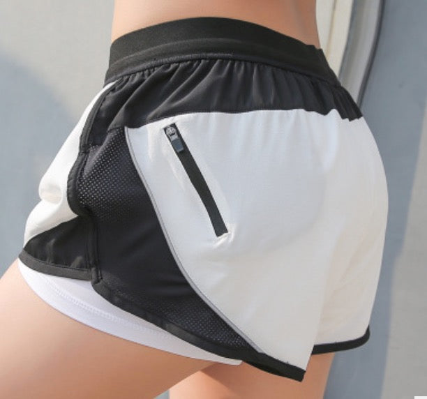 Athletic Zip Shorts