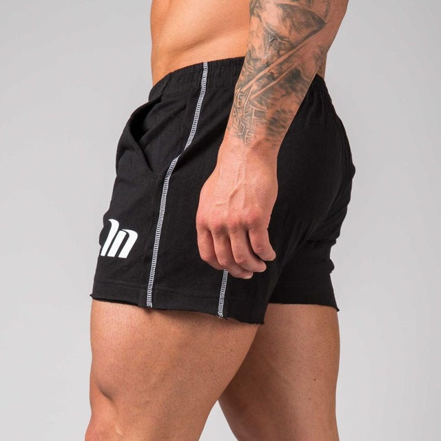 Slim Cotton Shorts