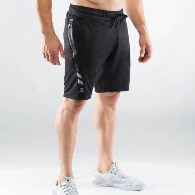 Stretch Cotton Casual Shorts