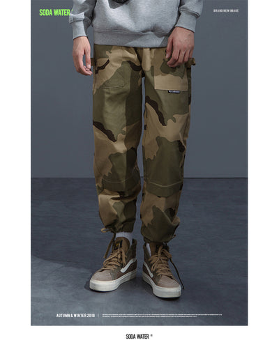 Camouflage Hip Pants