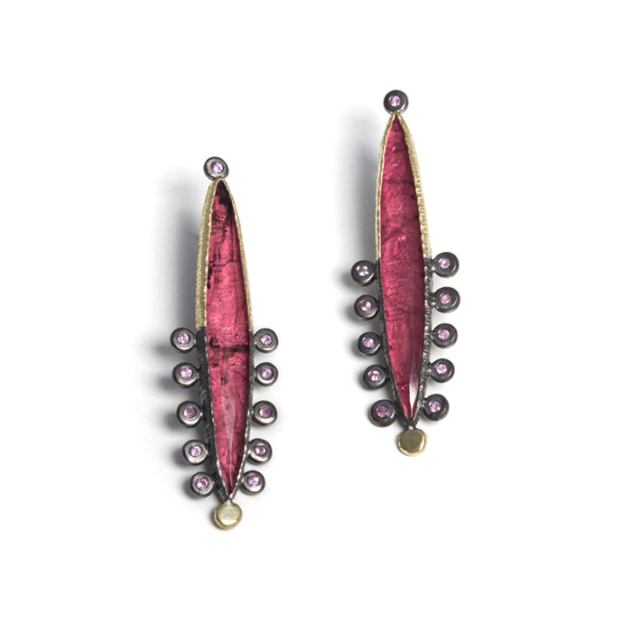 Crazy Pink Earrings