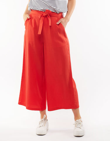 Pontsettia Pant | Poppy Red