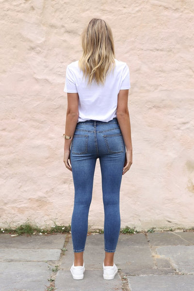 Harper Jeans | Blue Denim