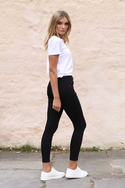 Harper Jeans | Black Denim
