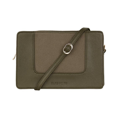 Liberty  Crossbody - Khaki & Canvas