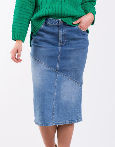 Nora Denim Skirt