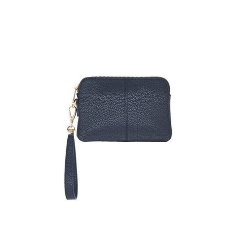 Bowery Coin Purse W/Wristlet - French Navy