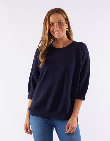 Elsie Knit | Navy
