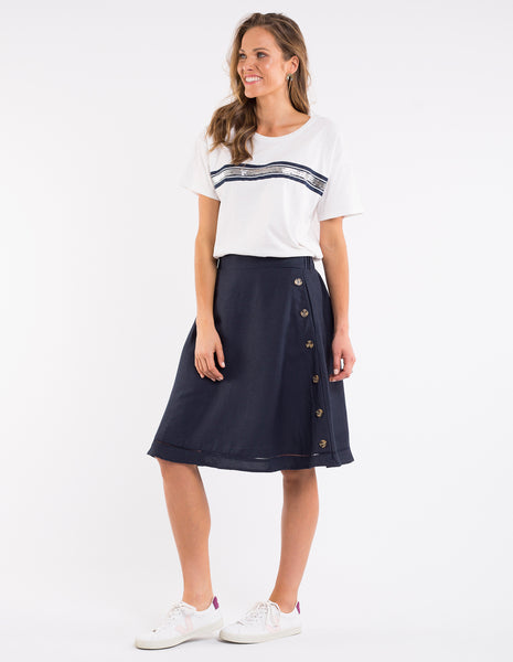 Julia Skirt | Navy