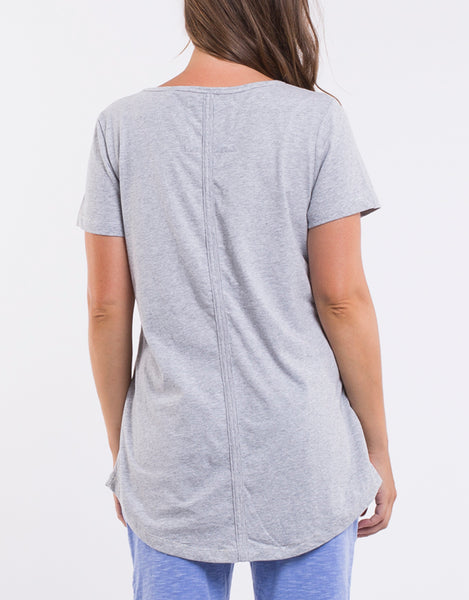 Fundamental S/S Tee - Greymarle