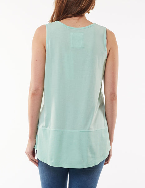 Fundamental Rib Tank | Mint