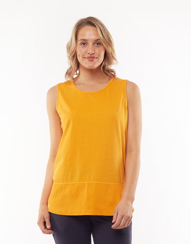 Fundamental Rib Tank | Orange